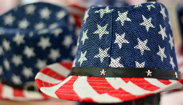the hat of American patriots