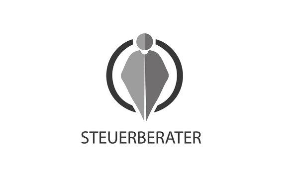 Steuerberater Logo , Steuerhilfe Logo