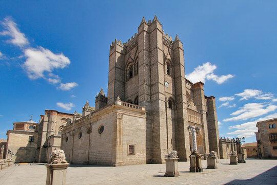 Avila Cathedral in Spain