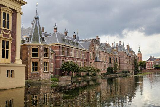 Binnenhof in The Hague, Holland