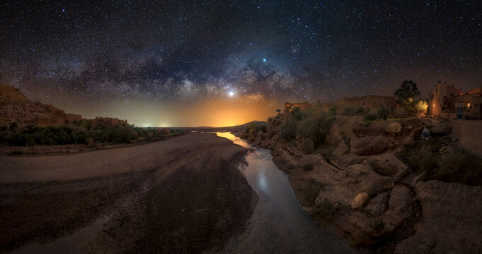 Incredible Milky way in Morocco.