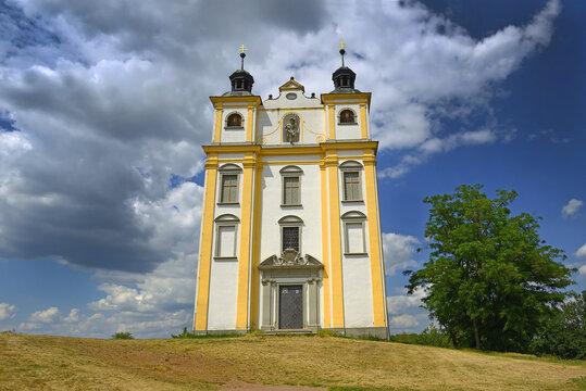 St. Florian Chapel of Town Moravsky Krumlov, South Moravian Region, Czech republic