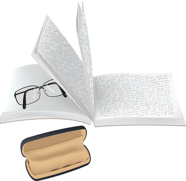 book written with glasses