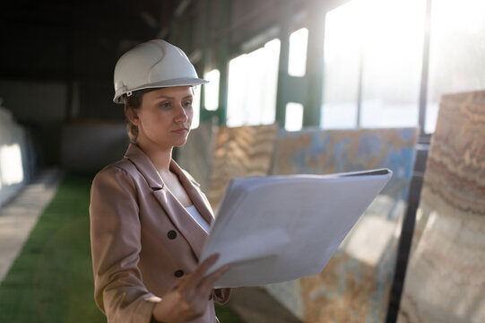 Smart contractor reading project blueprint
