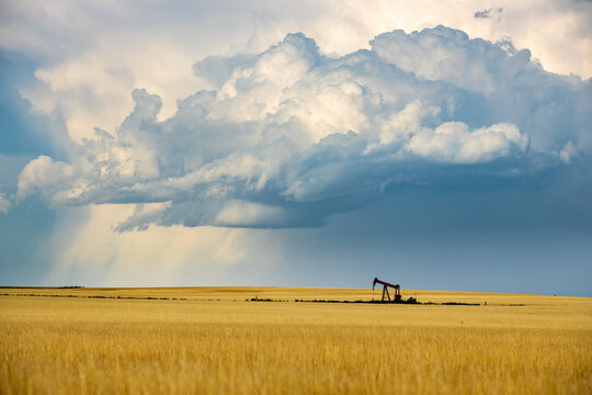 Storm Clouds over Colorado's Eastern Plains