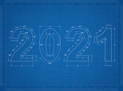 2021 new year Blueprint