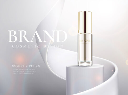 Beauty product ads banner