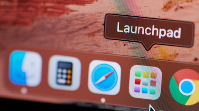 Launchpad icon on macos dock