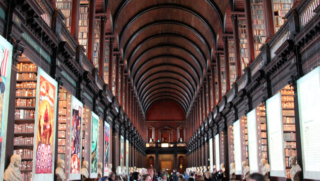 Trinity College Old Library Ireland