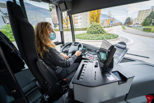 Driver woman day