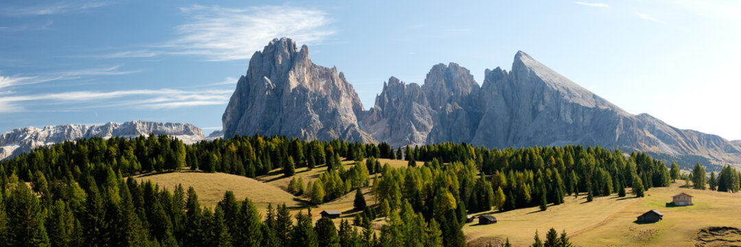 Seiser Alm in the Italian Dolomites
