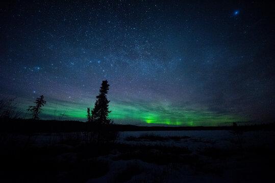 Aurora over Glennallen, Alaska