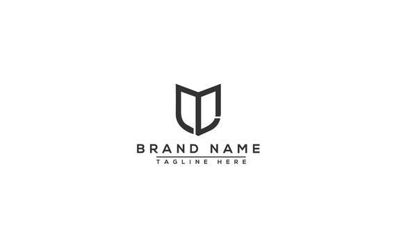 ML Logo Design Template Vector Graphic Branding Element.