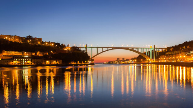 """María Pía Bridge"" in Porto, Portugal"