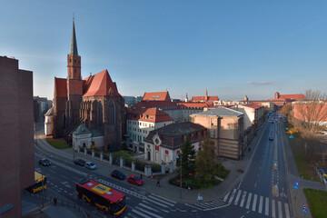 Wrocław - panorama części miasta