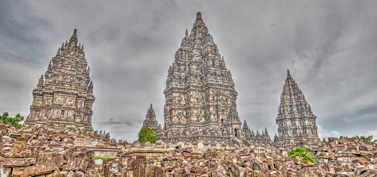 Prambanan Temple, Indonesia - HDR Image