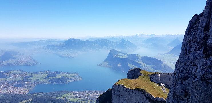 Luzern und Vierwaldstädter See