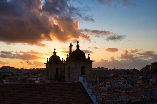 Porto - Sonnenuntergang