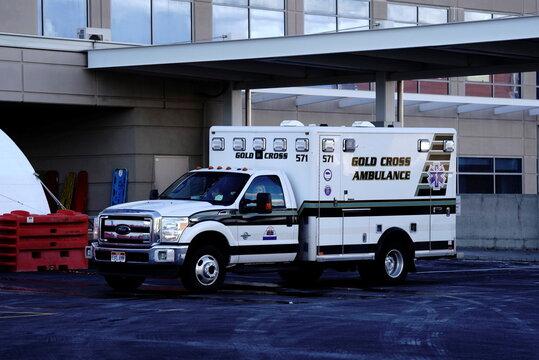 Intermountain Medical Center as COVID cases surge in Utah