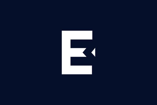 EM ME E M logo design concept with background. Initial based creative minimal monogram icon letter. Modern luxury alphabet vector design