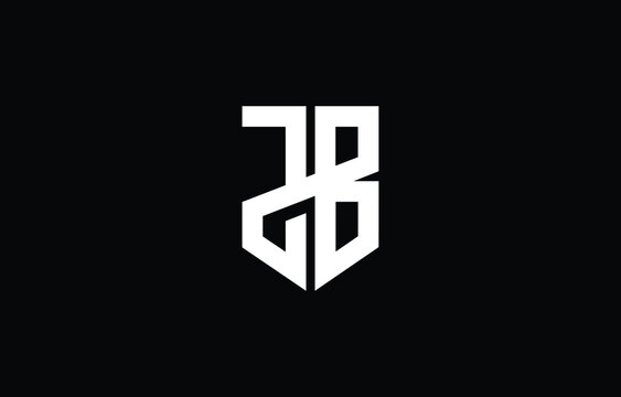 JB BJ J B logo design concept with background. Initial based creative minimal monogram icon letter. Modern luxury alphabet vector design