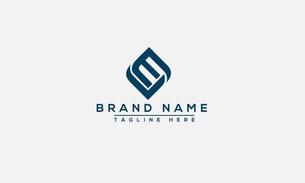 LE Logo Design Template Vector Graphic Branding Element.