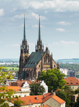 Cathedral of St. Peter and Paul. City of Brno - Czech Republic - Europe.