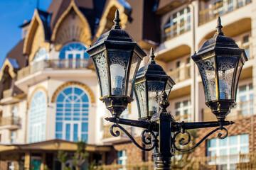 street lamp Fotomurales