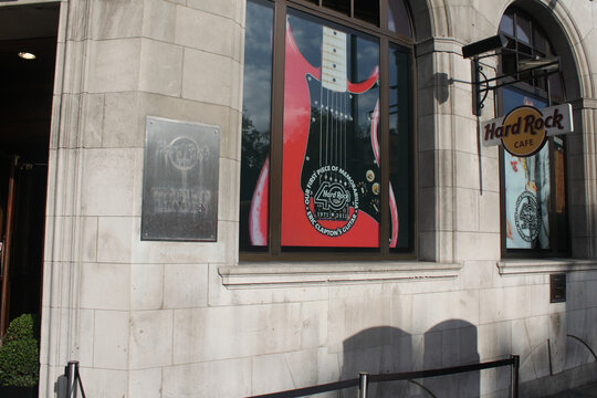 Hard Rock Cafe London clothing store