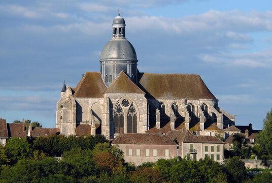 ville de Provins, La collégiale Saint-Quiriace (XIIe), département de Seine-et-Marne, France