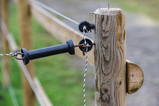 électricité energie ligne cable fil cloture