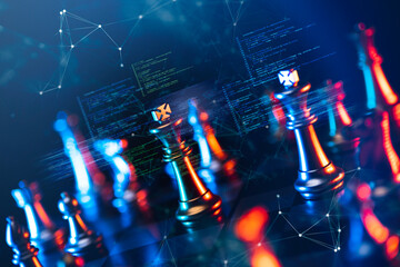 Finance business investment strategy competition, big data analytic artificial intelligence...