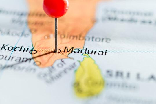Madurai, India.