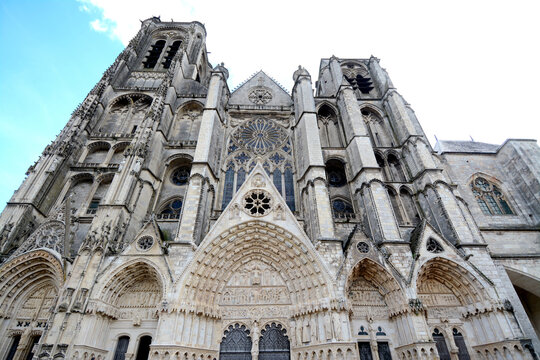 St. Stephen's Cathedral is a cathedral located in the city of Bourges, France. In 1992 it was included in the UNESCO World Heritage List.
