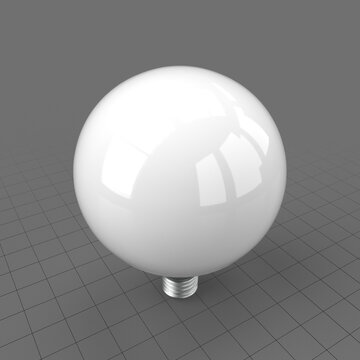 LED globe light bulb