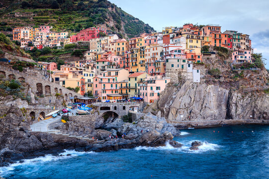 Twilight at Manarola