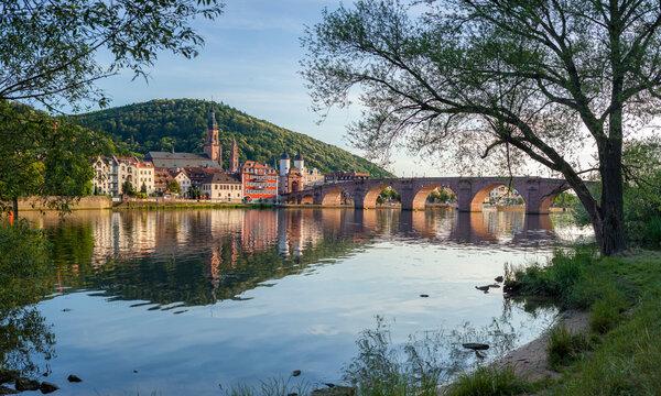 Old Bridge in Heidelberg, Baden-Württemberg, Germany
