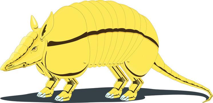 Illustration of an armadillo