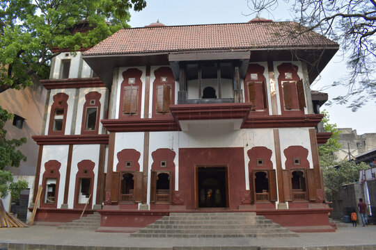 Lal Mahal - This Childhood Residence of Chhatrapati Shivaji Maharaj is located at the heart of Pune City. This building is reconstructed on same location, Pune, Maharashtra