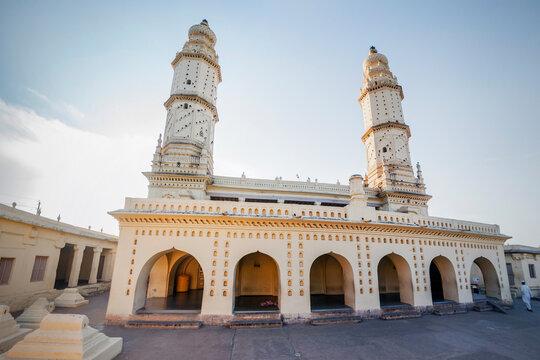 Heritage-Architecture-Masjid-E-Ala or Jamia Masjid-construction by Tippu in 1787 A.D. -Srirangapatna near Mysore-Karnataka-INDIA