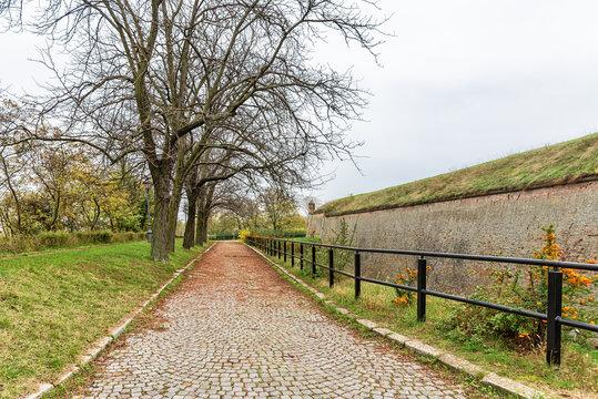 Autumn at the Petrovaradin Fortress, Vojvodina, Serbia