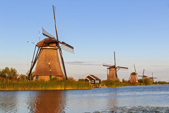 Windmills at Kinderdijk, Zuid-Holland, The Netherlands