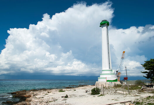 Cozumel Island San Miguel Town Lighthouse