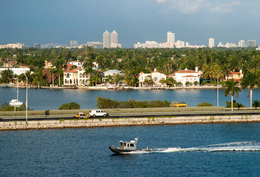 Traveling Along Miami Main Channel