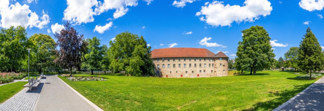 Öffentlicher Park und Burg, Schorndorf, Deutschland