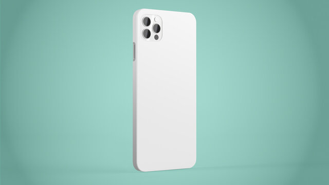 phone case mock up 3d rendering