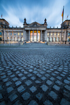 Exterior view of Reichstag building