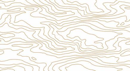 Obraz Seamless pattern of dense thin lines, wood grain texture background. Light golden wooden texture. Vector wallpaper - fototapety do salonu