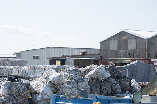 古紙 リサイクル工場