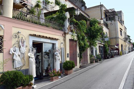 Clothes shop Positano